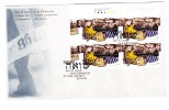 1995 Canada The Holocaust 45c Plate Block First Day Cover - 1991-2000