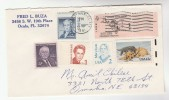 1991 USA COVER Stamps DOG, SHILOH, LYON, MITCHEL,MONROE Etc - United States