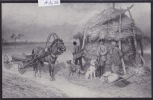 "Petersbourg - Musée Alexandre III : P. O. Kowalewsky ""Chasseurs"" (A 1076) - Russie"