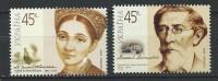 Ukraine 2004 Mi - 657/658.The 150th Ann. Of The Birth Of Marija Zenkovetskaja.The 200 Of The Birth Of M.Maksimovic.MNH - Ukraine