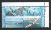 Ukraine 2004 Mi - 662/665.Bridges Of Ukraine.MNH - Ukraine