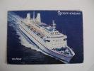 Postcard Postal Azur - Dampfer