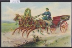 "Illustration De A. Heroebl ""Types Russes IX"" (A 1086) - Russie"