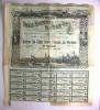 1899 Action 500 Francs Au Porteur - Société Métallurgique De L´Oural-Volga - - Russie
