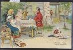 """Illustration De S. Yaguttstsei : """"Types Russes"""" V. (A 1094) - Russie"""