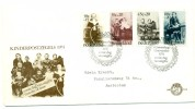 1974 Netherlands Kinderpostzegels Semi-Postal First Day Cover - FDC