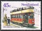 New Zealand SG1364 1985 Vintage Trams 45c Fine Used - Nouvelle-Zélande