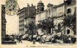 83 TOULON Eglise Saint-Jean Marché  Carte  Animée - Toulon