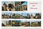 (RECTO / VERSO) PANORAMA DES CHARENTES EN 1971 - MULTIVUES - BELLE FLAMME - CPSM GF VOYAGEE - France