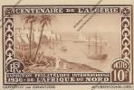 CPA Exposition Philatélique Internationale De L´Afrique Du Nord  Centenaire De L´Algérie 1930 ( GRAVURE  VERECQUE ) - Algeria