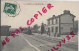 LA CHAPELLE AU RIBOUL - LA GARE - 1909-TRAIN - France