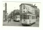 BRUXELLES MOLENBEEK CHAUSSEE DE GAND ET RUE PIERS TRAM AU CROISEMENT DE LA LIGNE 86 STIB ET M SNCV - Public Transport (surface)