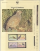 Gibraltar 1991  WWF /  Birds 4v ** Mnh With 3 Leaflets With Information About The Issue (W628) - W.W.F.