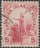 Hawaii 1894 Y&T 65 Michel 59. Roi Kamehameha 5 C - Hawaii