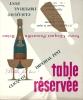 """Carton De Réservation De Table - Publicité """"Veuve Clicquot"""" Impérial - Alcools"""
