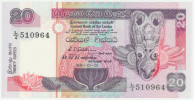 Sri Lanka 20 Rupees 1.1.1991 Pick 103a UNC - Sri Lanka