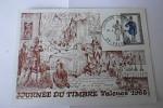 1er Jour Journée Du Timbre 1968 - Valence 16/03/1968 - FDC