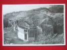 "POLYNESIE FRANÇAISE - TAHITI - CARTE PHOTO - "" CONSTRUCTION D´UNE CASE "" - TRES RARE - VOIR  SERIE CARTE "" MACKENZIE""... - Tahiti"