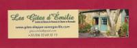 """Marque Page. Bookmark.  Les Gîtes D""""Emilie En Normandie - Bookmarks"""