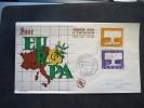 FDC Saare 16/09/1957 - Europa-CEPT