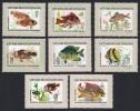 Vietnam Fish 8v SG#102/09 SC#831-38 - Vietnam