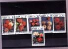 CUBA : Fleurs : Y&T : O :  2762 à 2767 - Cuba