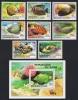 Zaire Tropical Fish 8v+MS SG#1017/MS1025 SC#974-981A - 1980-89: Nuevos