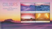 Antarctic.Australisch Antarctiisch Territory.2015.Sheet.4v.Mountains.MNH.22310 - Australian Antarctic Territory (AAT)