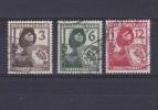 Allemagne - Deutfches Reich - N° 591 à 593 Oblitérés - Cote = 2.00€ - Duitsland