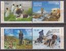 Antarctic.Australisch Antarctisch Territory.2015.Dogs/Penquins.MNH.22313 - Australian Antarctic Territory (AAT)