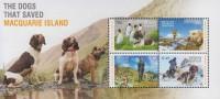 Antarctic.Australisch Antarctisch Territory.2015.Sheet.4v.Dogs/Penquins.MNH.22316 - Australian Antarctic Territory (AAT)