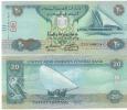 Newly Issued UNITED ARAB EMIRATES 20 Dirhams Dated 2015 P28(c) UNC - Emirats Arabes Unis