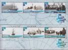 Antarctic.Ross Dependency.2015.2 Sheets.6v.Expedition.MNH.22329 - Ross Dependency (Nieuw-Zeeland)