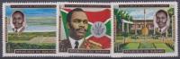 COB 426a/28a Onafhankelijkheid-Indépedance  MNH - Burundi