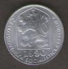 CECOSLOVACCHIA 5 HALERU 1990 - Cecoslovacchia