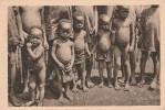 Gabon  -enfants à Lambarené - Scan Recto-verso - Gabón