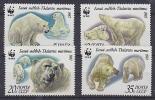 Russia 1987  WWF /   Icebear 4v ** Mnh  (26887B) - W.W.F.