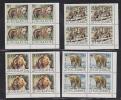 Yugoslavia 1987 WWF / Bears 4v  Bl Of 4 (corner)  ** Mnh (26885C) - Unused Stamps