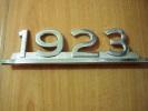 MONOGRAMME POUR CAMION SAVIEM-1923 - Cars