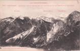 Cpa Des Pyrénées - Montagne - Alpinisme - Panorama Pris Du Monné Sur Les Montagnes De Cauterets Et Le Balaitous - Alpinisme