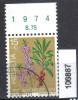 Schweiz, Zst. PJ 248, Mi. 1042 O Seidelbast - Toxic Plants