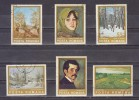 1975 - Tableaux Par Ion Andreescu Yv No 2884/2889 Et Mi No 3247/3252 - 1948-.... Repúblicas