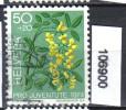 Schweiz, Zst. PJ 250, Mi. 1044 O Goldregen - Toxic Plants
