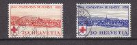 1939  N° 240 - 241   OBLITERES  CATALOGUE ZUMSTEIN - Svizzera