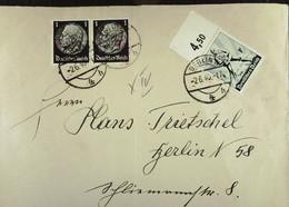 DR 33-45: Orts-Brief Mit 6 Pfg. Tag Der Arbeit, BERLIN N4 Vom 2.6.40 Knr: 745 U.a. - Briefe U. Dokumente