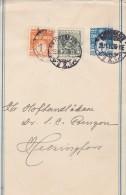 Denmark; Postal Wrapper To Finland - No Contr. No. - No Wm. 1910 - Enteros Postales