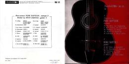 Superlimited Edition CD Recital By Rene Bartoli - Guitare 2 - Instrumental