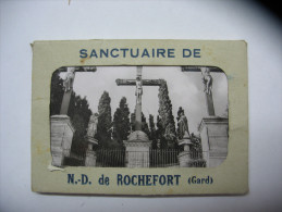 Rochefort Du Gard Sanctuaire De ND De Rochefort  Pochette Vues  (frais De Port 1.60 Euro) - Rochefort-du-Gard