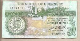 Guernsey - Banconota Circolata Da 1 Sterlina - 1980 - Guernesey