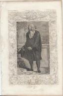 Gravure/Histoire DeFrance  D'Anquetil Et Gallois/Page 100/MIRABEAU/1791/Début 19éme     GRAV74 - Gravures